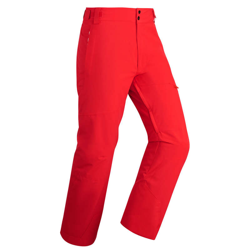 MEN ADVANCE ON PIST SKIING EQUIPMENT Schi si Snowboard - Pantalon schi pe pârtie 500  WED'ZE - Imbracaminte schi barbati