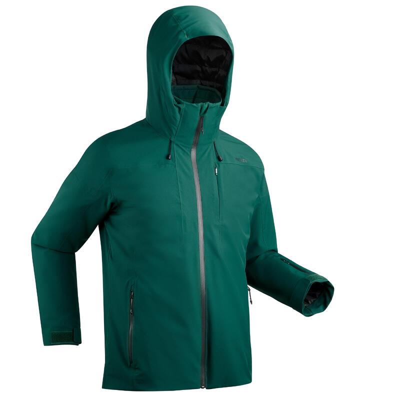 Erkek Kayak Montu - Yeşil - SKI-P 500