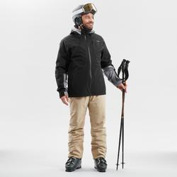 MEN'S DOWNHILL SKI TROUSERS 580 - BEIGE