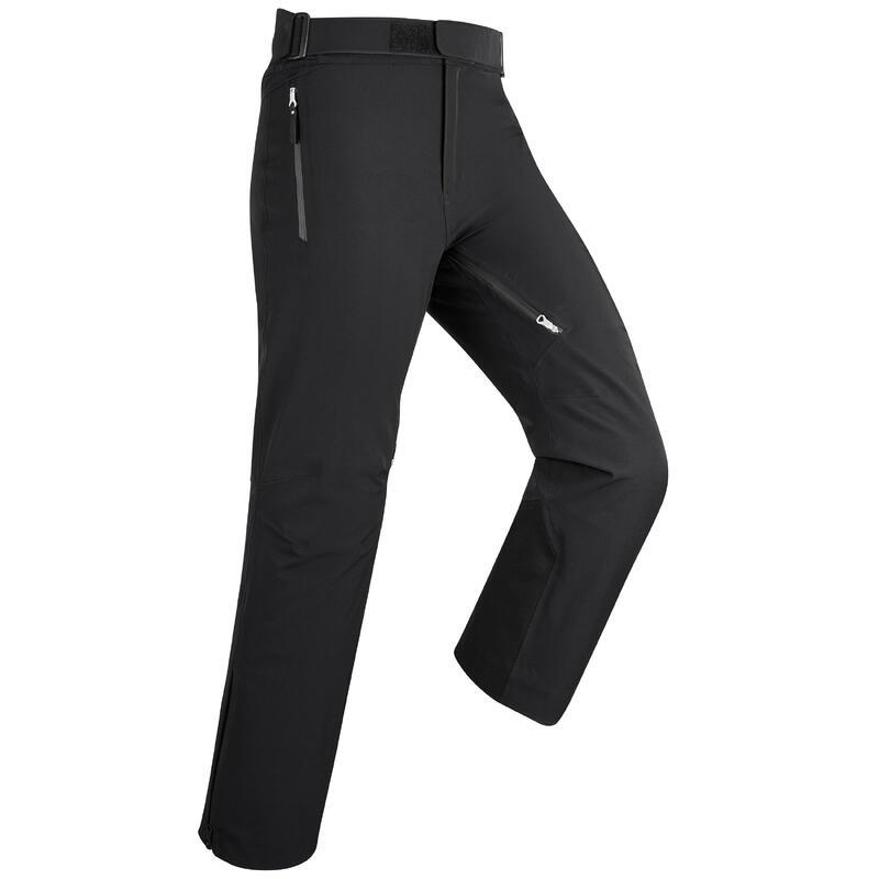 Pantalones de Esquí y Nieve Hombre Wedze Ski-P PA 980 Negro