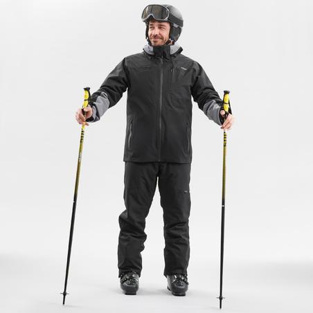 Men's Warm Ski Jacket 500 Black