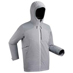 MEN'S DOWNHILL SKI JACKET 580 - GREY