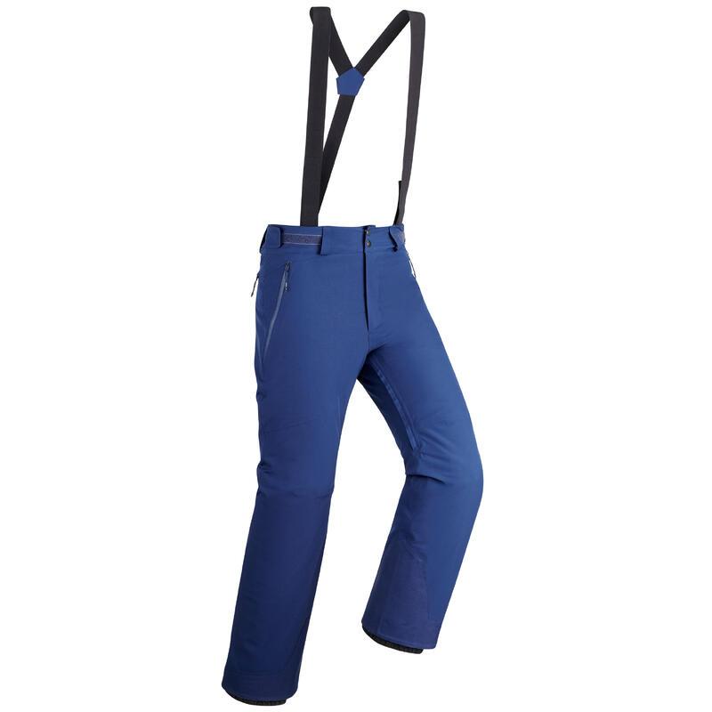 Pantalones de Esquí y Nieve Hombre Wedze Ski Piste 580 Azul