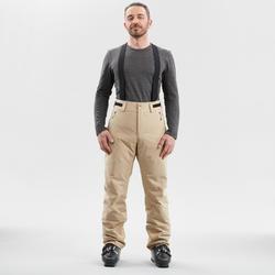 MEN'S DOWNHILL SKI PANTS 580 - BEIGE