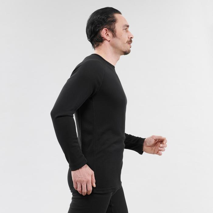 Sous-vêtement de ski homme haut 100 Noir