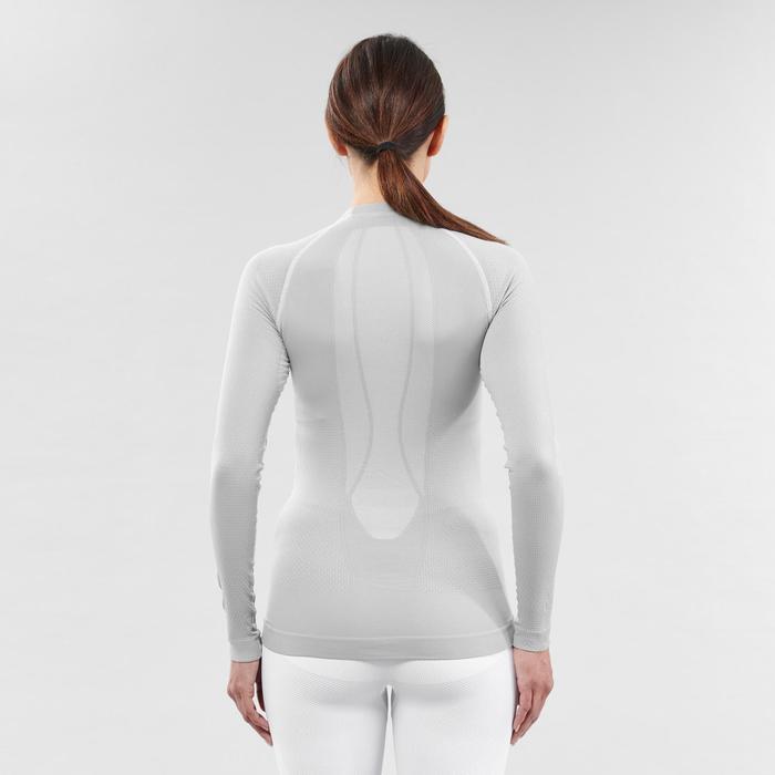 Thermoshirt voor skiën dames 580 I-Soft grijs