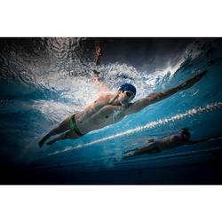 Lunettes de natation 900 B-FAST Noir Vert verres clairs
