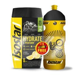Iso-Getränkepulver H&P Zitrone 560g + Trinkflasche gratis