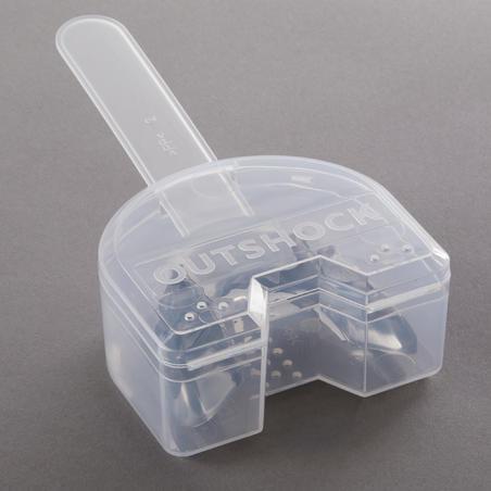 PROTECTOR BUCAL DE BOX 500 TALLA M GRIS