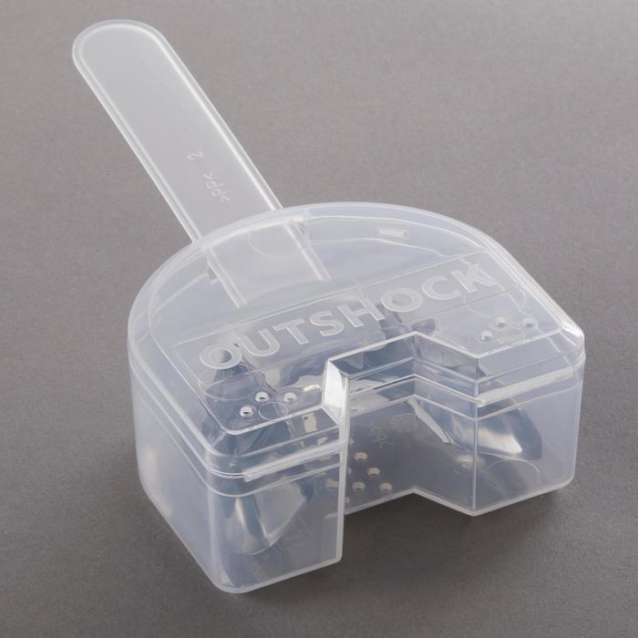 Gebitsbeschermer voor boksen 500 L grijs