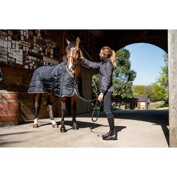 Manta de Cuadra Equitación Fouganza STABLE 200 Negro Caballo y Poni
