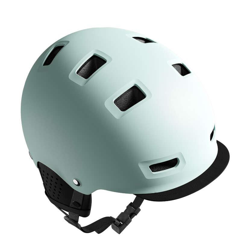 Шлемы городские Велоспорт - ШЛЕМ VILLE 500  BTWIN - Экипировка