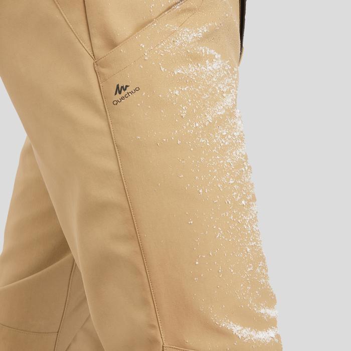 Waterafstotende, warme broek voor sneeuwwandelen Heren - SH100 X-WARM