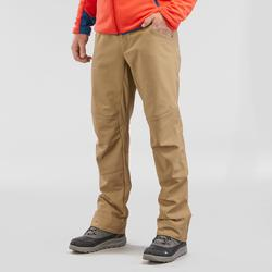 男款雪地健行超保暖防水長褲SH100