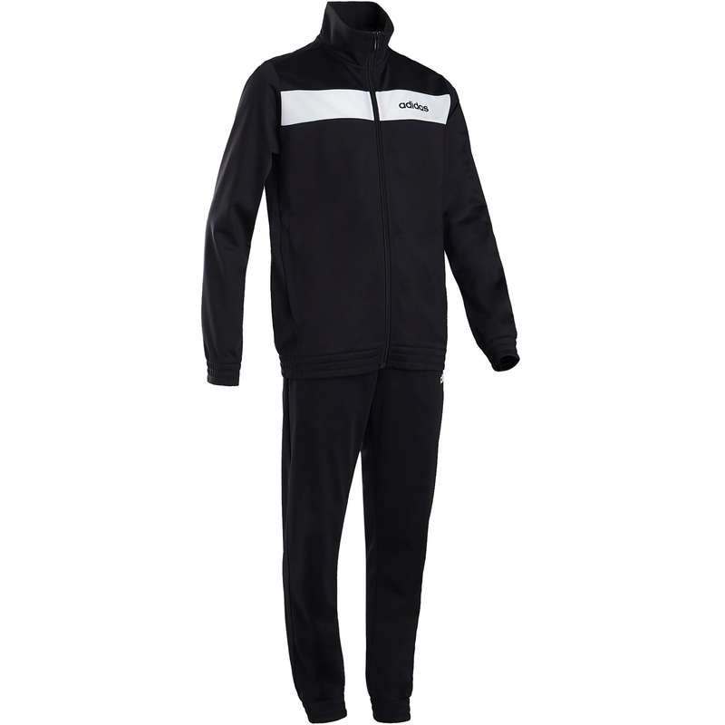 BOY EDUCATIONAL GYM COLD WEATHER APP Fitness and Gym - Boys' Tracksuit - Black ADIDAS - Gym Activewear