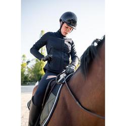Veste équitation 500 SOFTSHELL femme marine