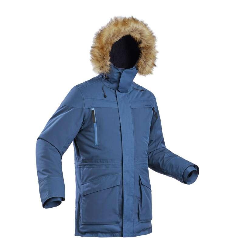Winterwanderjacken Herren Herrenbekleidung - Wanderjacke SH500 Ultra-warm QUECHUA - Oberbekleidung Herren