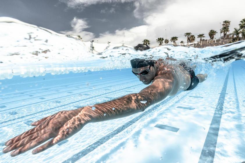 游泳心肺耐力