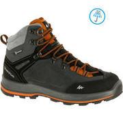 Men's Waterproof Trekking Boots - TREKKING 100 ONTRAIL Grey