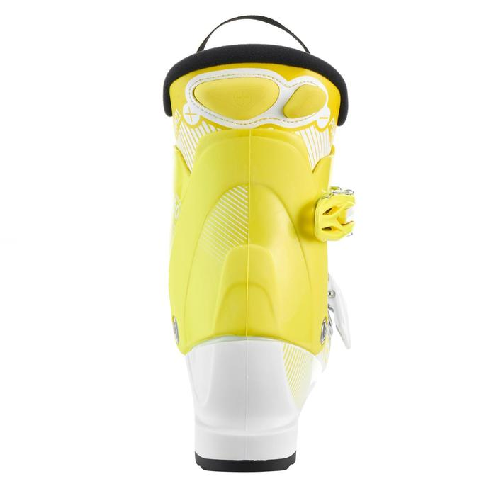 Skischoenen voor kinderen Pumzi 500 geel