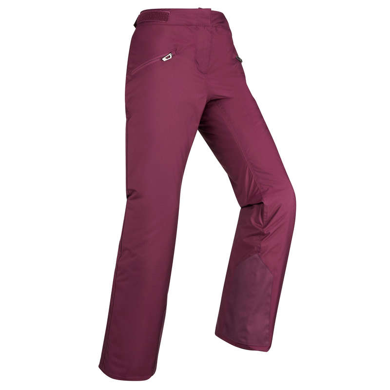 WOMEN'S CLOTHING BEGINNER SKIERS Skiing - W's D-SKI-P trousers 180 - Pur WEDZE - Ski Wear