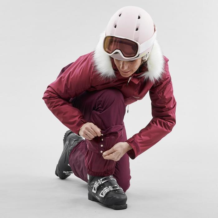 Dames Skibroek voor pisteskiën 180 paars