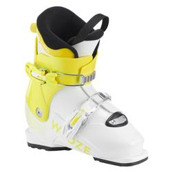 KIDS' SKI BOOTS PUMZI 500 YELLOW