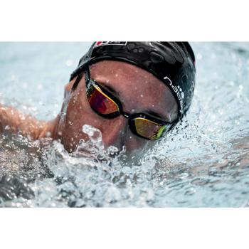 Zwembril 900 B-fast zwart/rood spiegelglazen