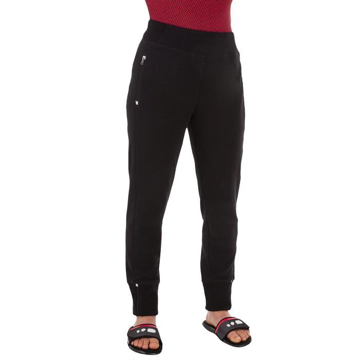 Jogginghose Club Damen schwarz
