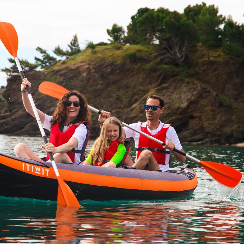 kayak children