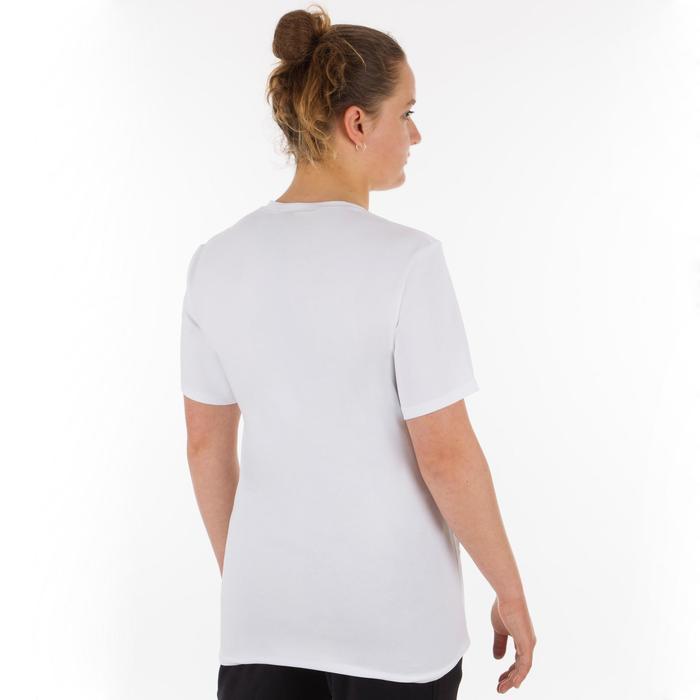 Uniseks T-shirt club wit
