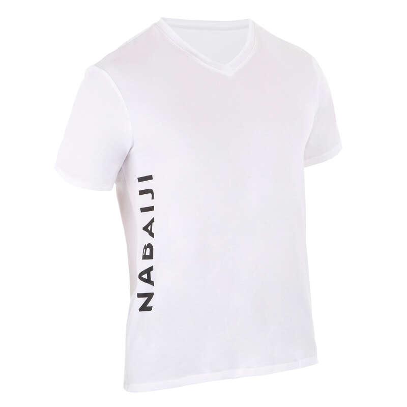 TESSILE PER CLUB Sport in piscina - T-shirt per club nuoto bianca NABAIJI - Accessori e Materiale Nuoto