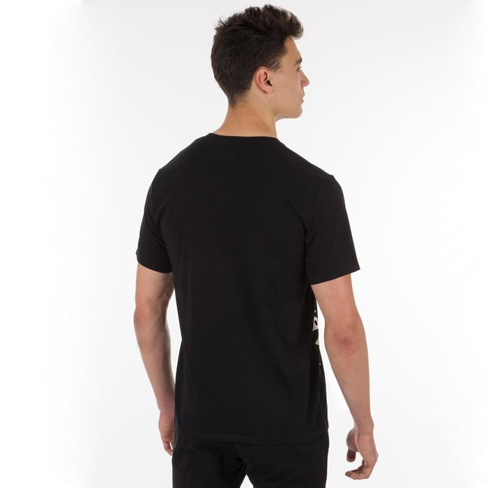 Uniseks T-shirt club zwart