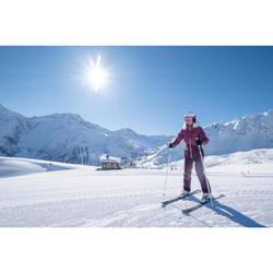 Skijacke Piste 180 Damen schwarz/weiß