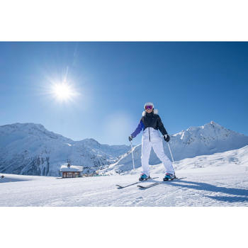 Ski-jas voor pisteskiën dames 180 paars