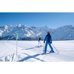 Skibroek voor pisteskiën dames 180 paars