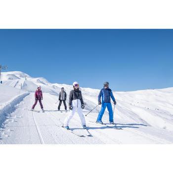 Ski-jas voor pisteskiën heren 180 grijs/zwart