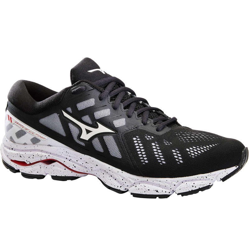 MAN ROAD RUNNING SHOES - M Wave Ultima - Black AW19 MIZUNO