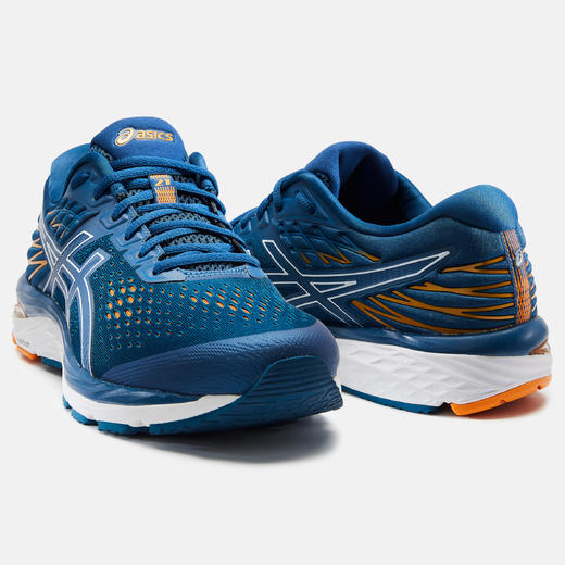 chaussure running homme gel cumulus 21 bleue asics