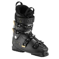 Skischuhe Piste Heat 580 Herren schwarz