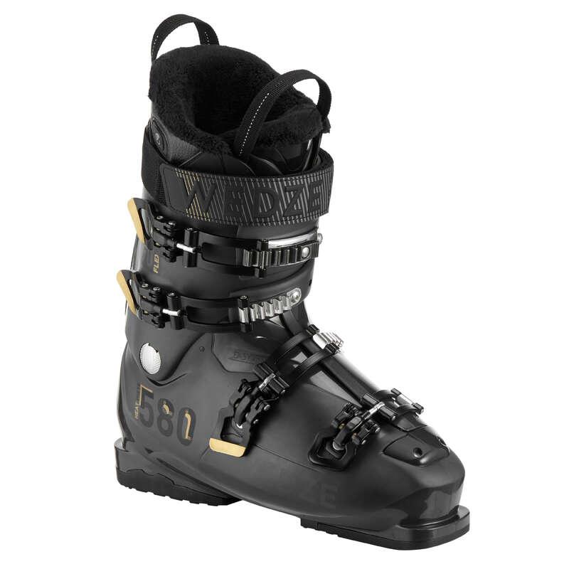 PÁNSKÉ LYŽAŘSKÉ BOTY (POKROČILÍ) Lyžování a snowboarding - PÁNSKÉ LYŽAŘSKÉ BOTY HEAT 580 WEDZE - Lyžařské vybavení