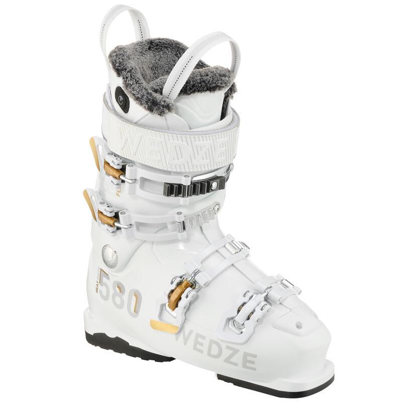 Skischoenen voor dames Heat 580 wit