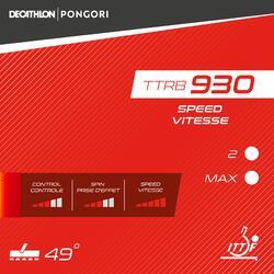 桌球膠皮TTRB 930 Speed