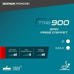 REVESTIMENTO PARA RAQUETE DE PING PONG TTRB 900 SPIN