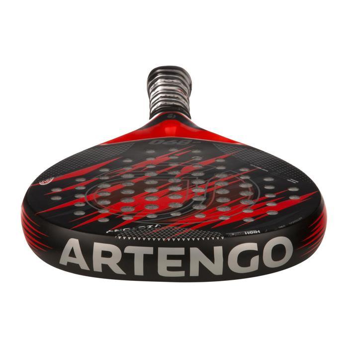 Pala de Pádel Artengo PR890 Elite Rojo Negro Adulto