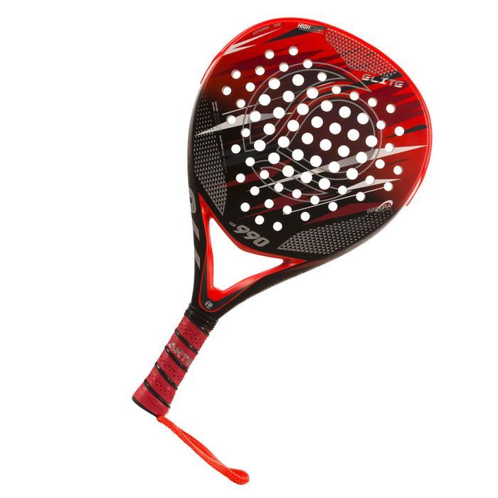 Padelracket PR990 Elite rood / zwart