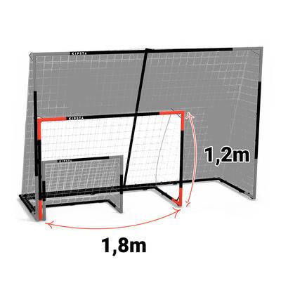 שער כדורגל SG 500 מידה M - נייבי/כתום