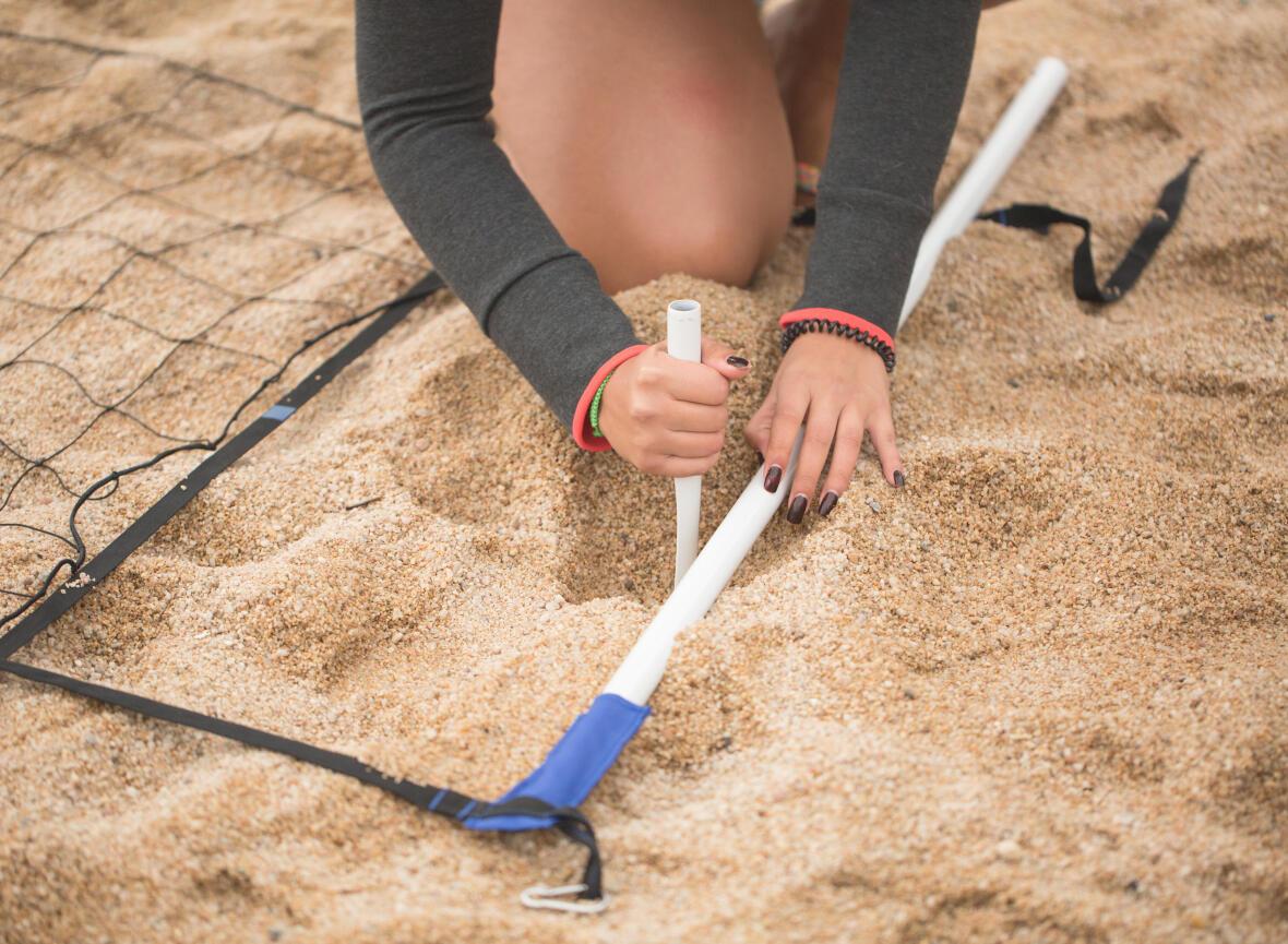 Comment monter son filet de beach-volley BV500?