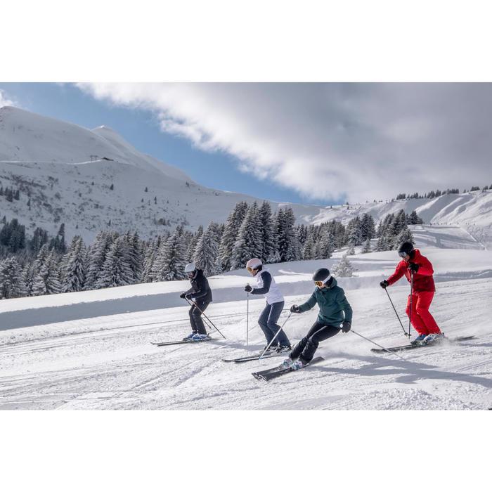 Skibroek voor pisteskiën dames 580 beige