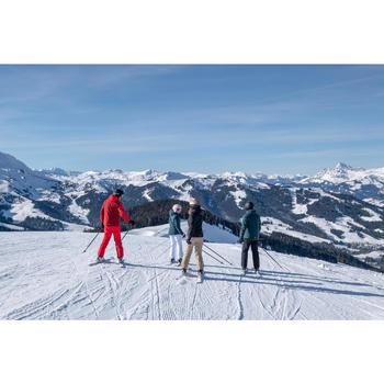 Skibroek voor pisteskiën heren 500 rood